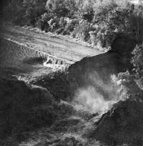 Jefferson Island Salt Mine Collapse In