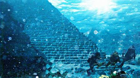 Hidden History, Under Water Civilization Ruins, YONAGUNI Yonaguni-jima-japan_